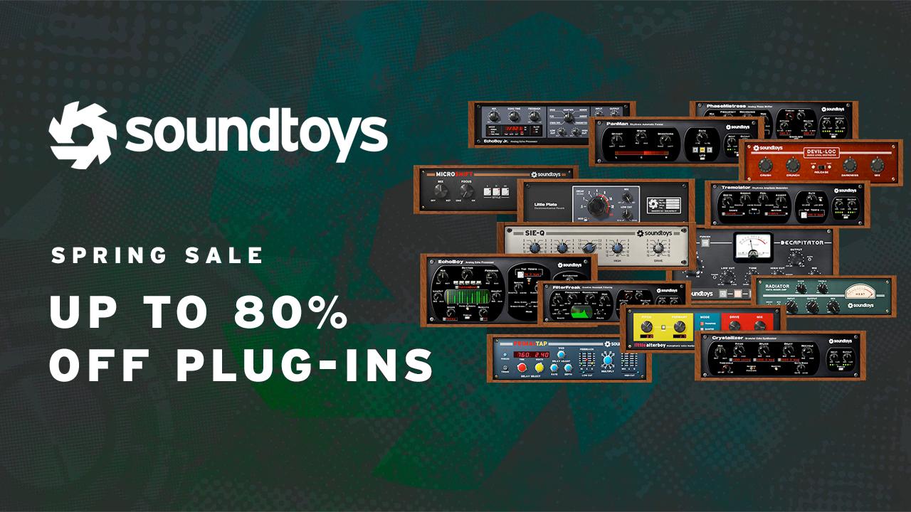 soundtoys spring sale