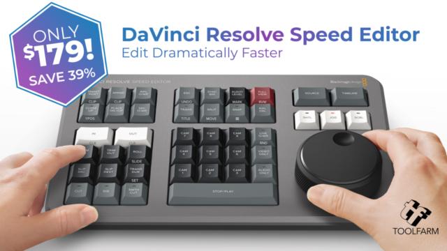 Speed Editor Sale