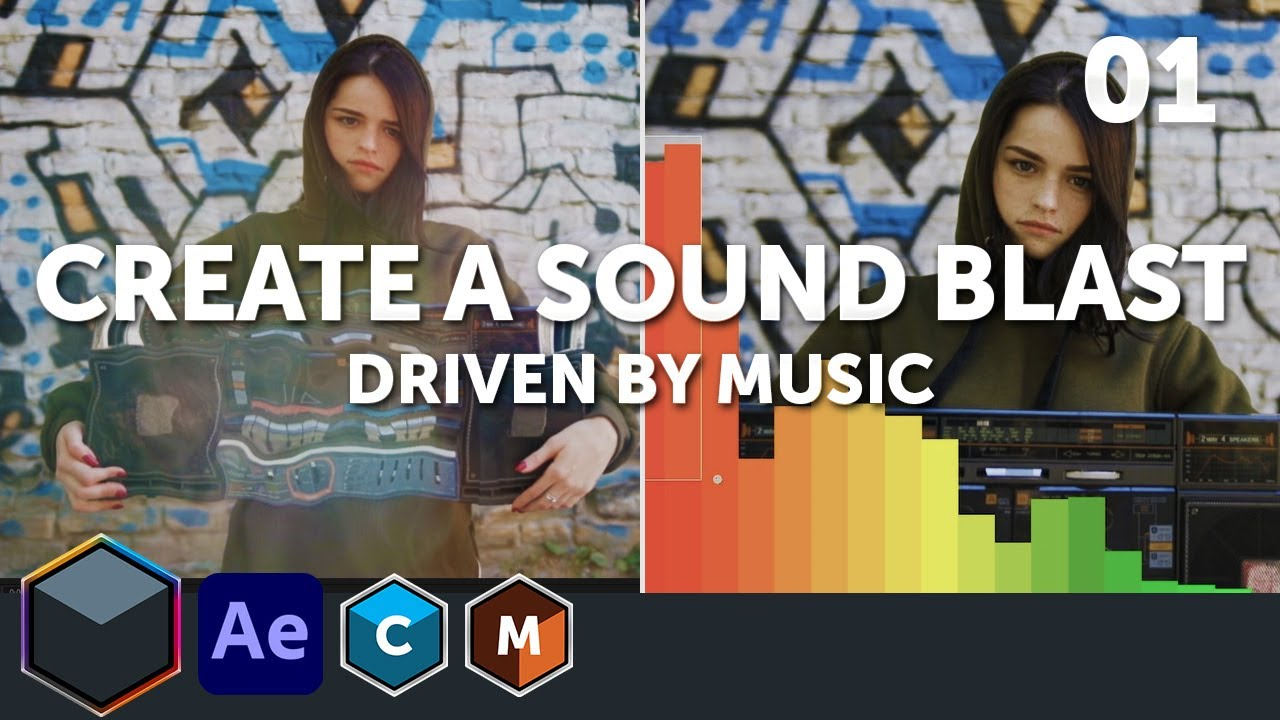Create a Sound Blast Driven By Music with Boris FX Suite, 4 Part Series