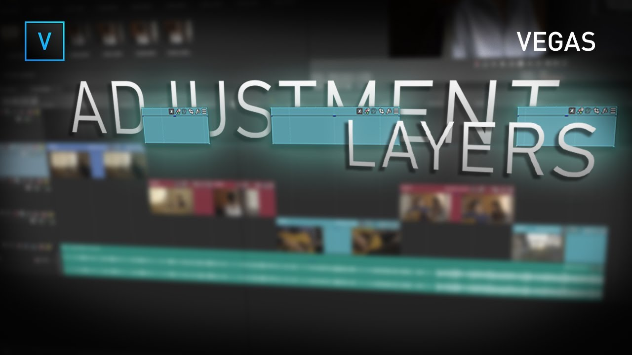 Add Adjustment Layers in VEGAS Pro 18