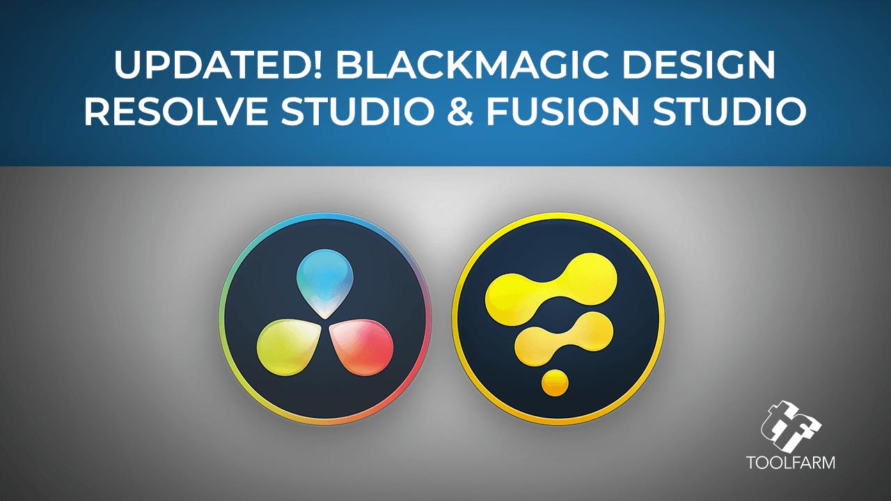 Update: Resolve Studio & Fusion Studio Updated to 17.3