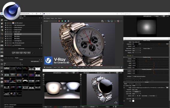 HDR Light Studio - Xenon Drop 3 C4D