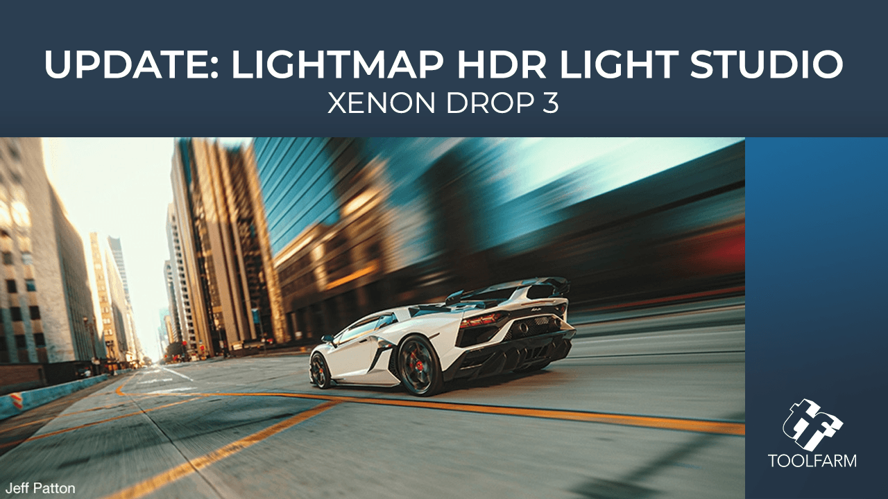 Update: Lightmap HDR Light Studio - Xenon Drop 3