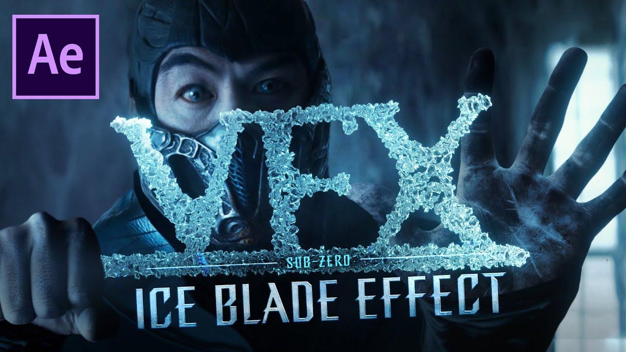 Recreate Sub-Zero Ice Blade from Mortal Kombat (2021)