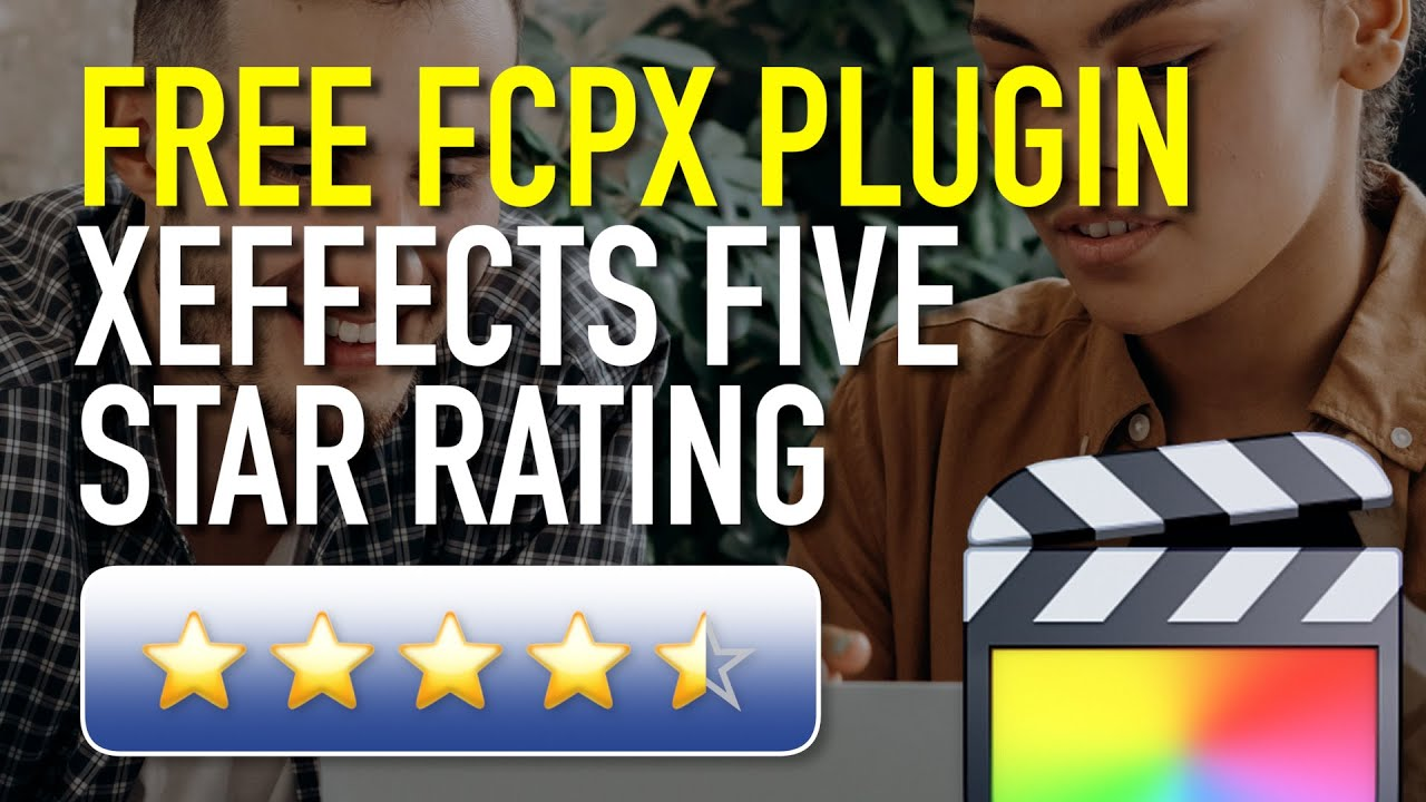 Freebie: XEffects Five Star Rating for FCP X