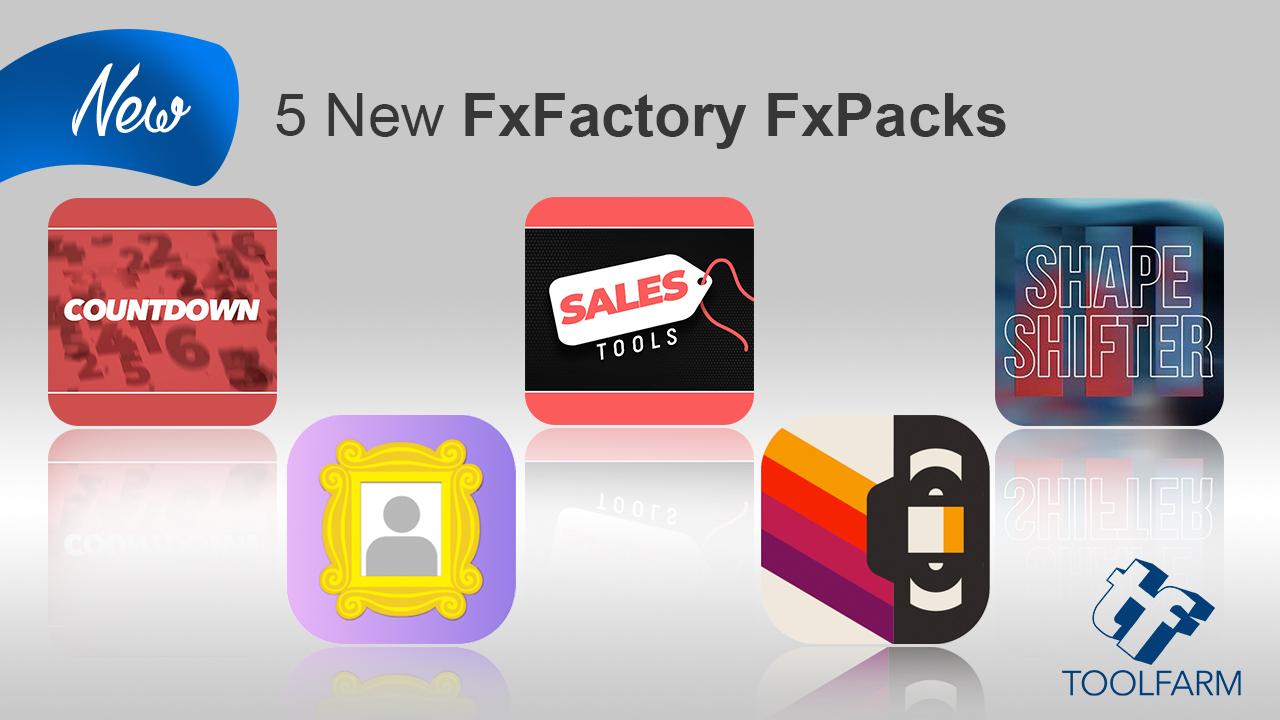 5 new fxfactory packs