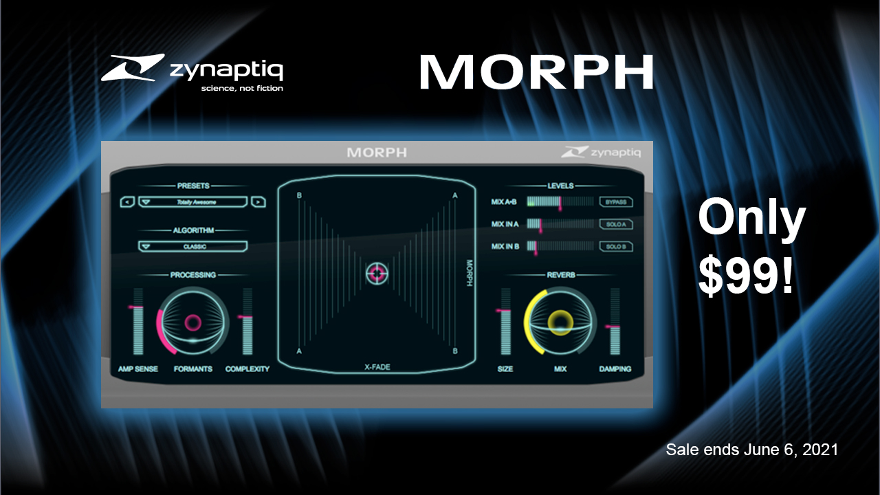 zynaptiq morph $99