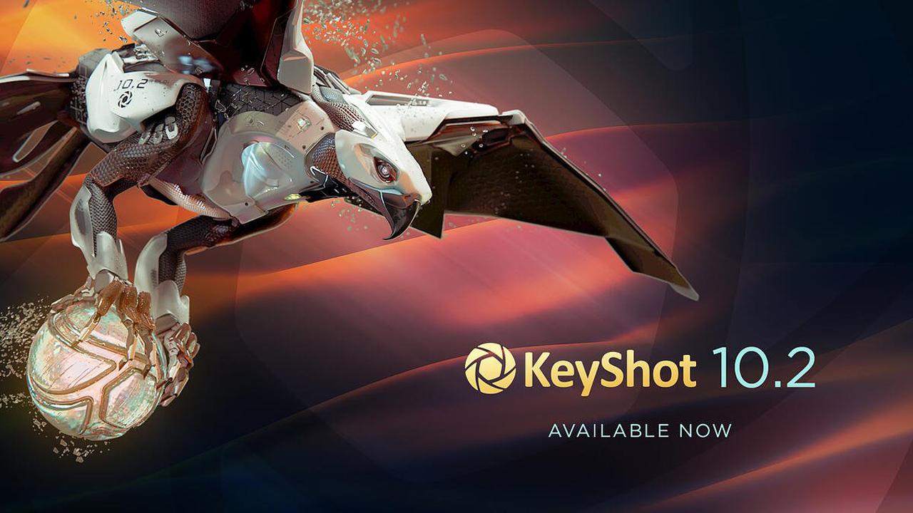 keyshot update 10.2