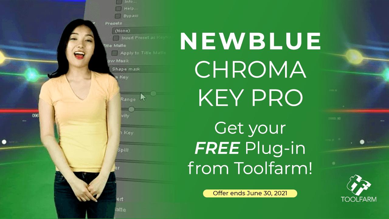 Freebie: NewBlue Chroma Key Plug-in – Free Download Through June 30th 2021