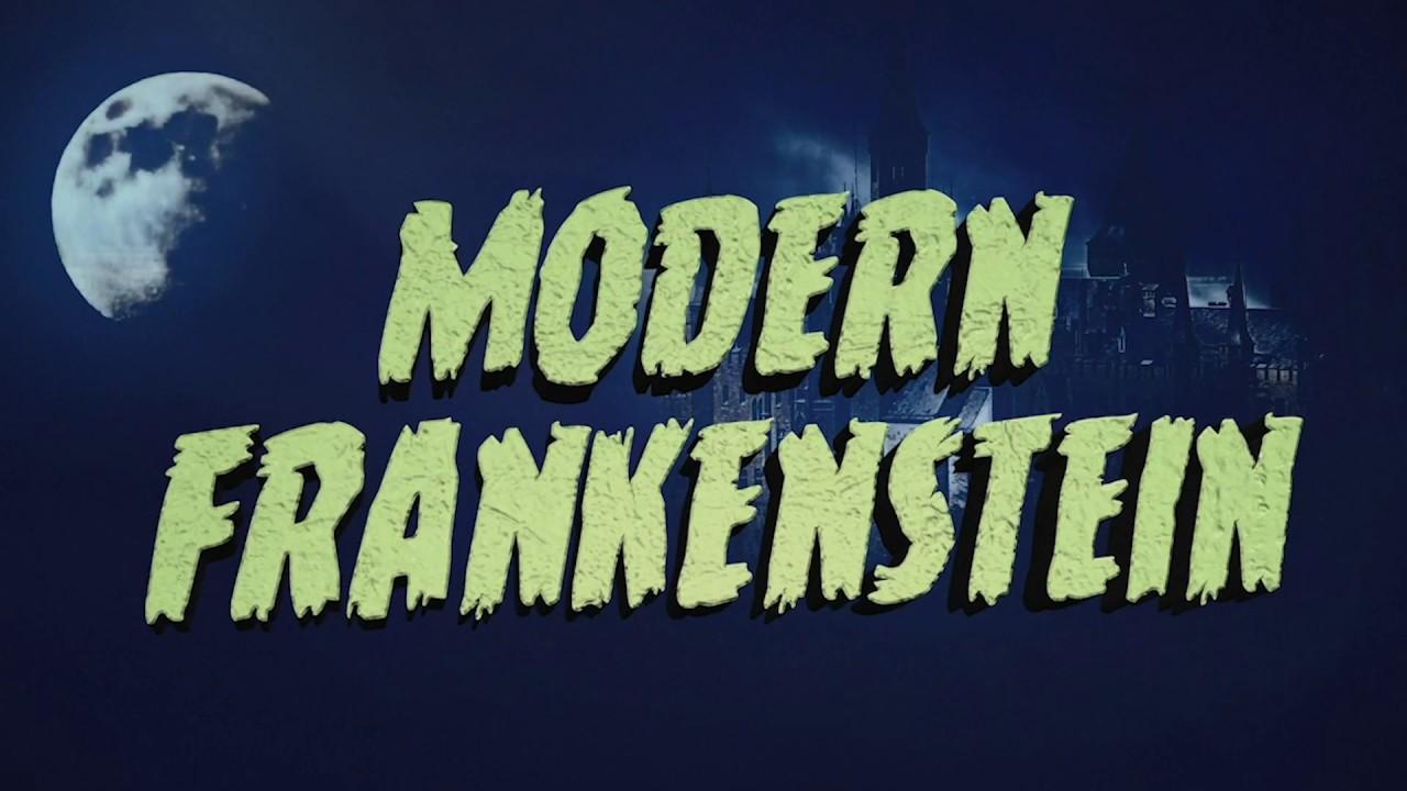 Modern Frankenstein Classic Horror Film Titles with Titler Pro