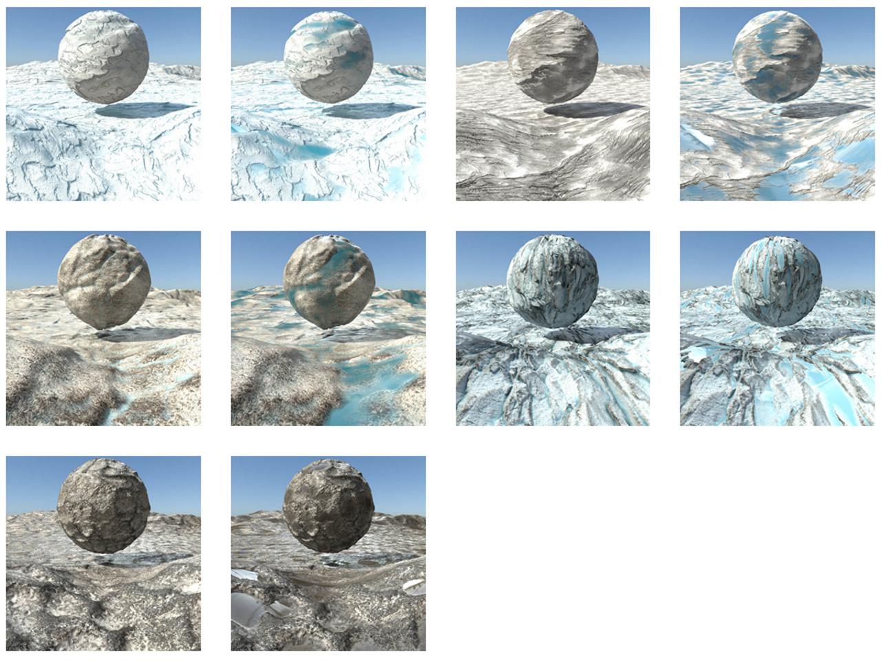 rmm terrains glaciers