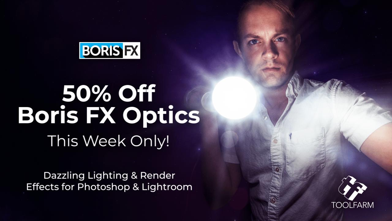 optics 50% Off