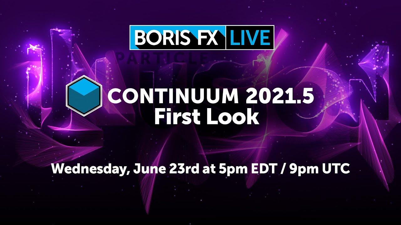 boris live continuum 2021.5 first look