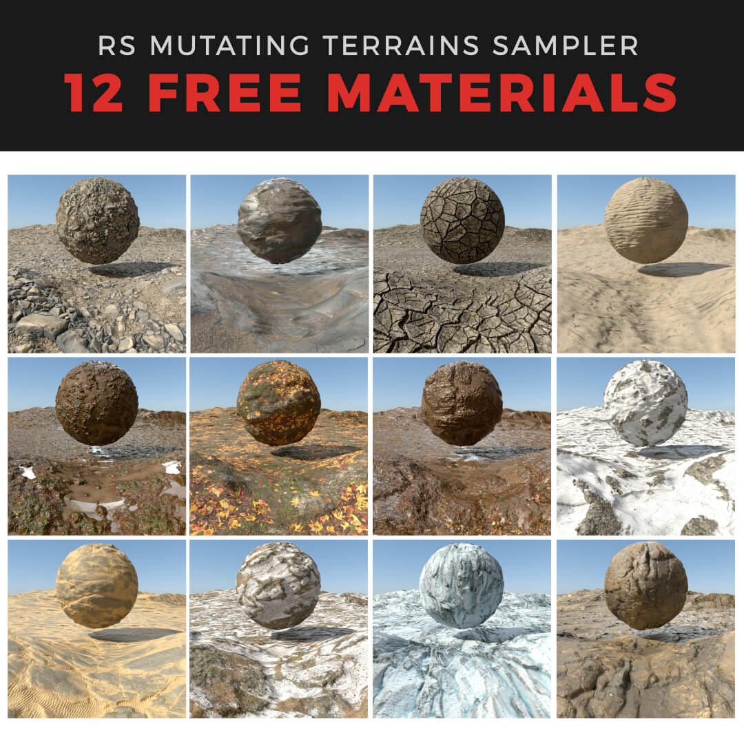 rsmm terrains free pack