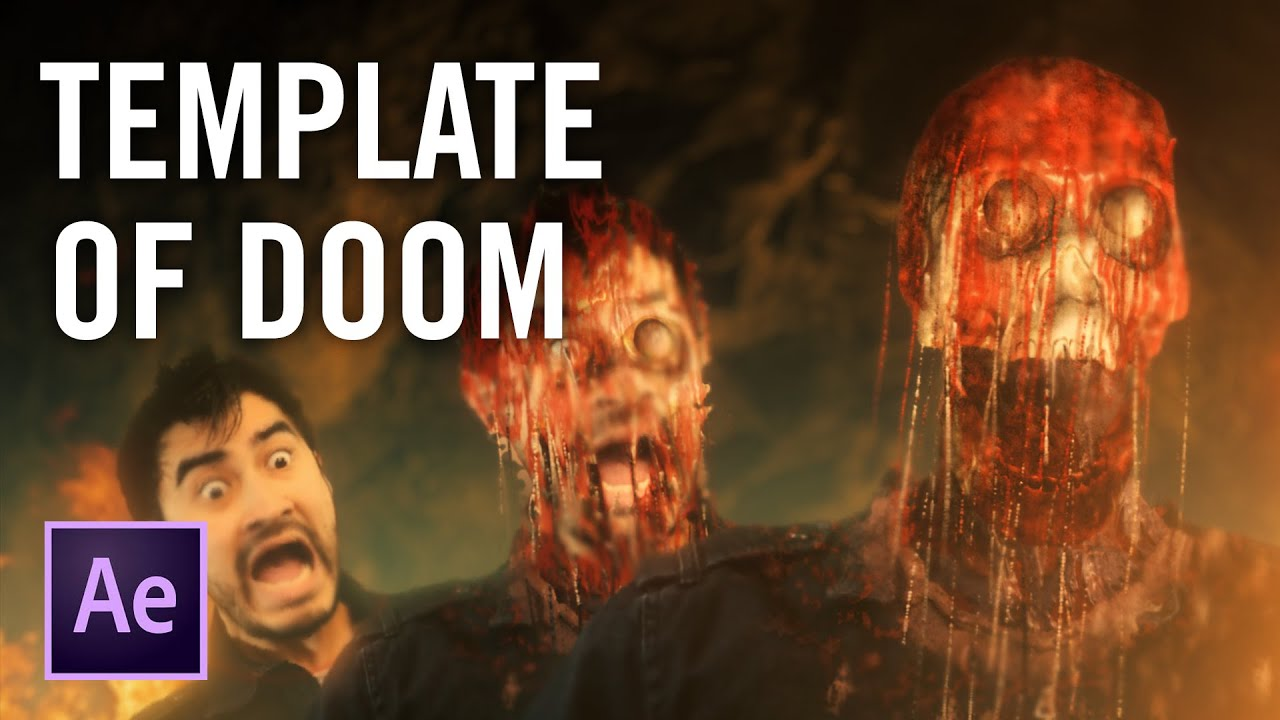 Melting Faces with the Template of Doom | VFX Side Quest