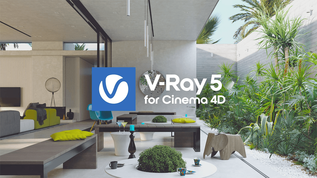 Update: V-Ray 5 for Cinema 4D, update 1 Available Now