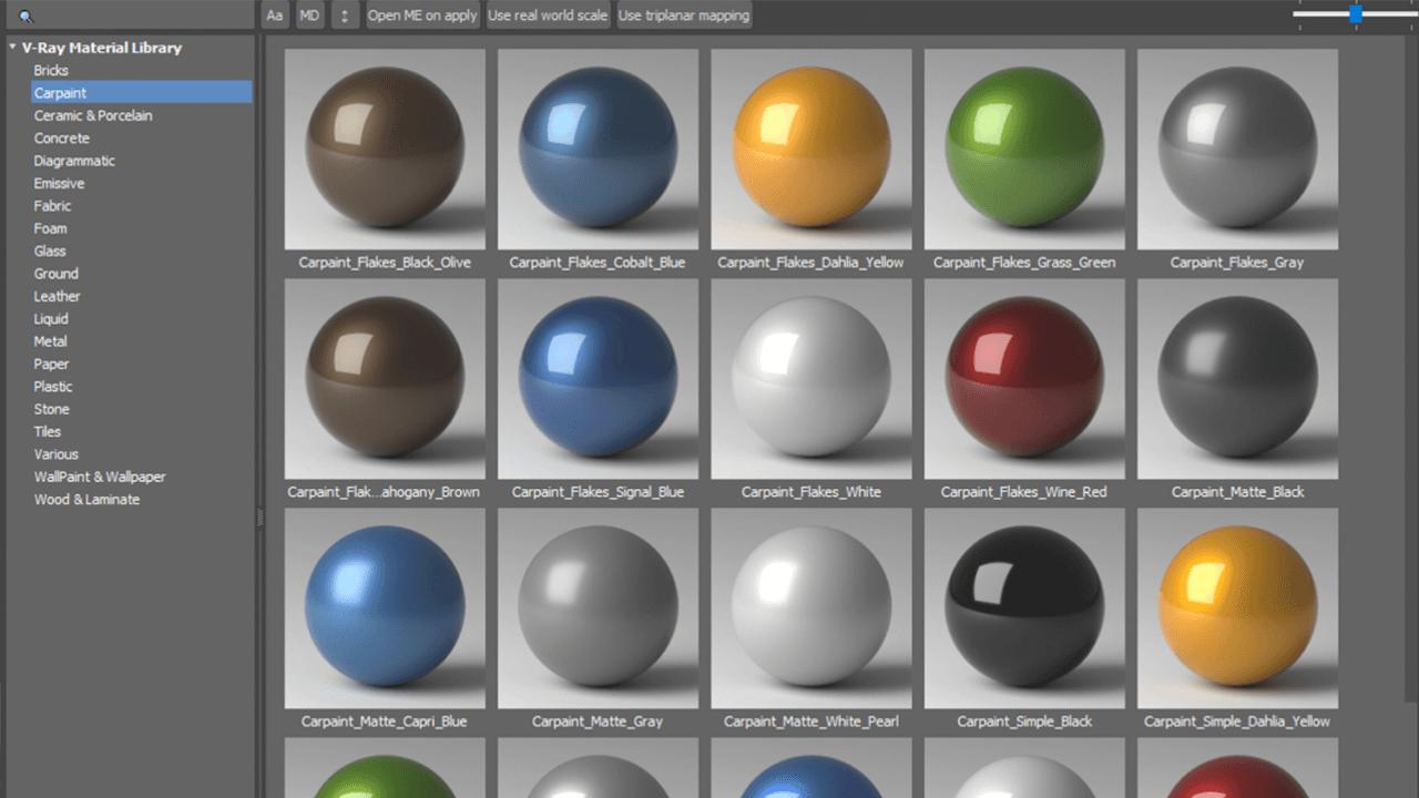 V-Ray 5 Creating Materials