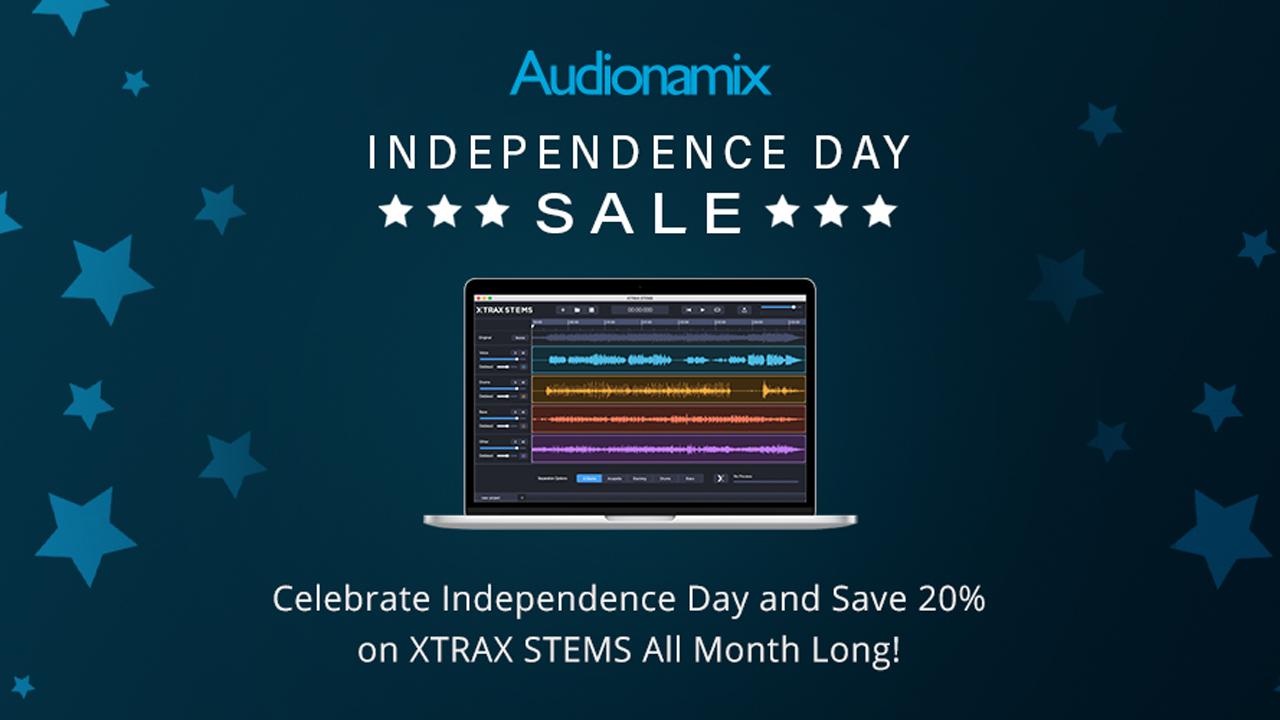 audionamix indy day sale