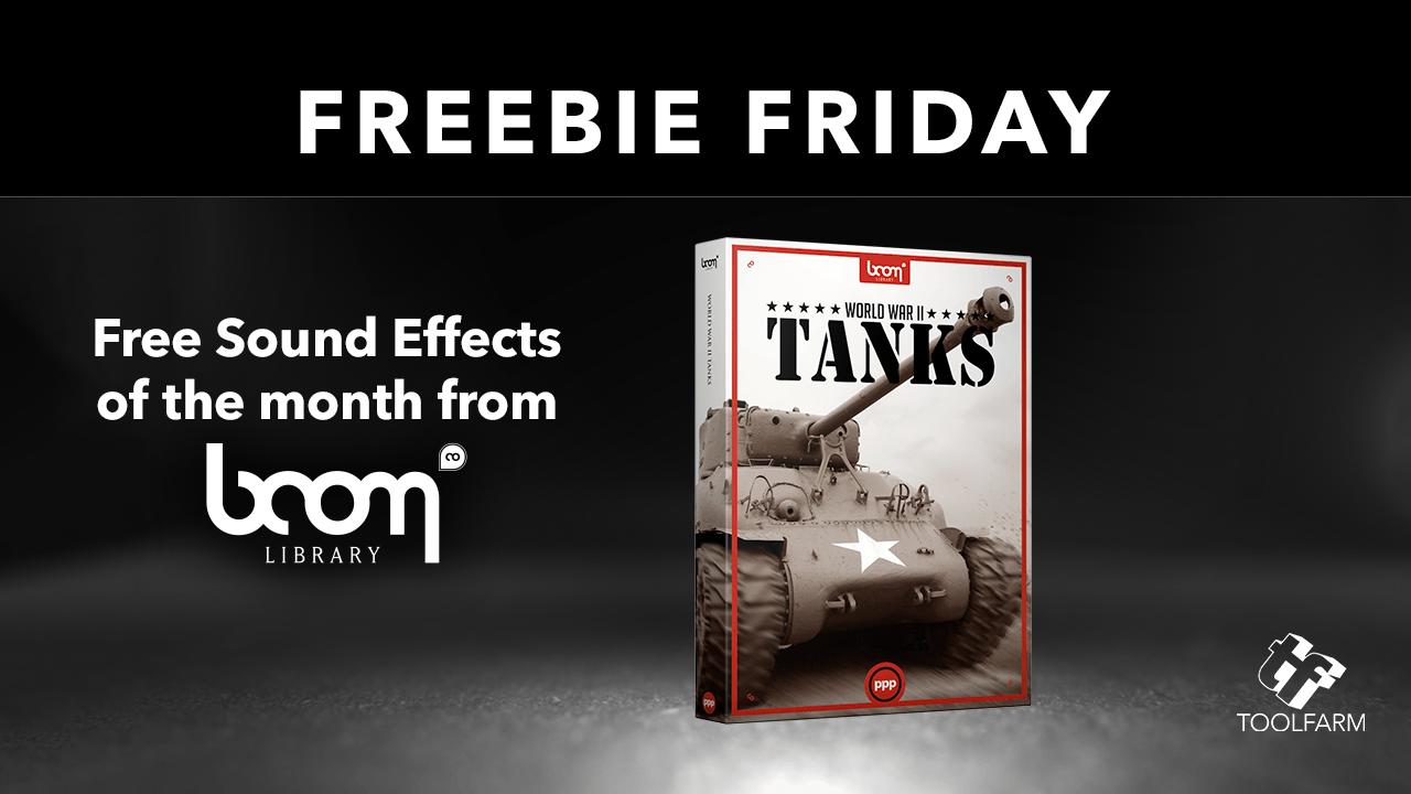 Freebie: World War 2 Tanks, Boom Library Free Sound Effects