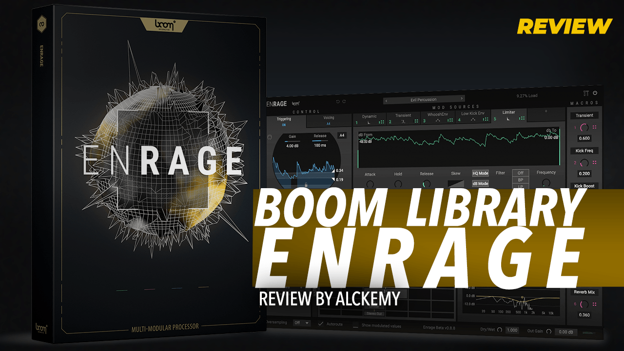 Review: BOOM Library Enrage! Review by Alckemy