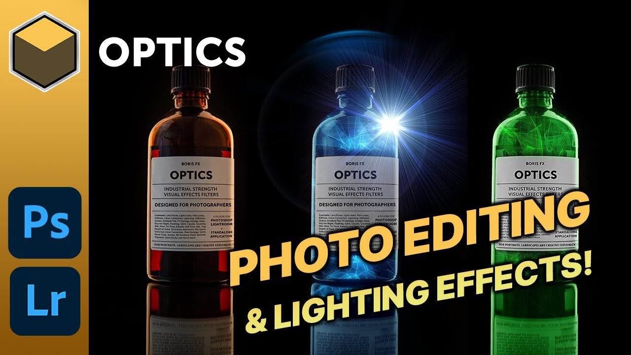 Procedural Photo Editing & Effects with Boris Optics