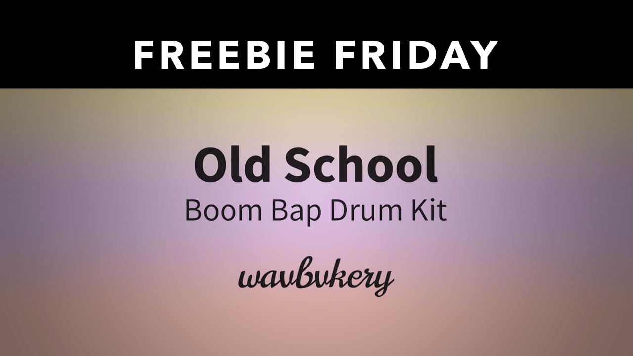 Freebie: Old School Boom Bap Drum Kit from Wavbvkery