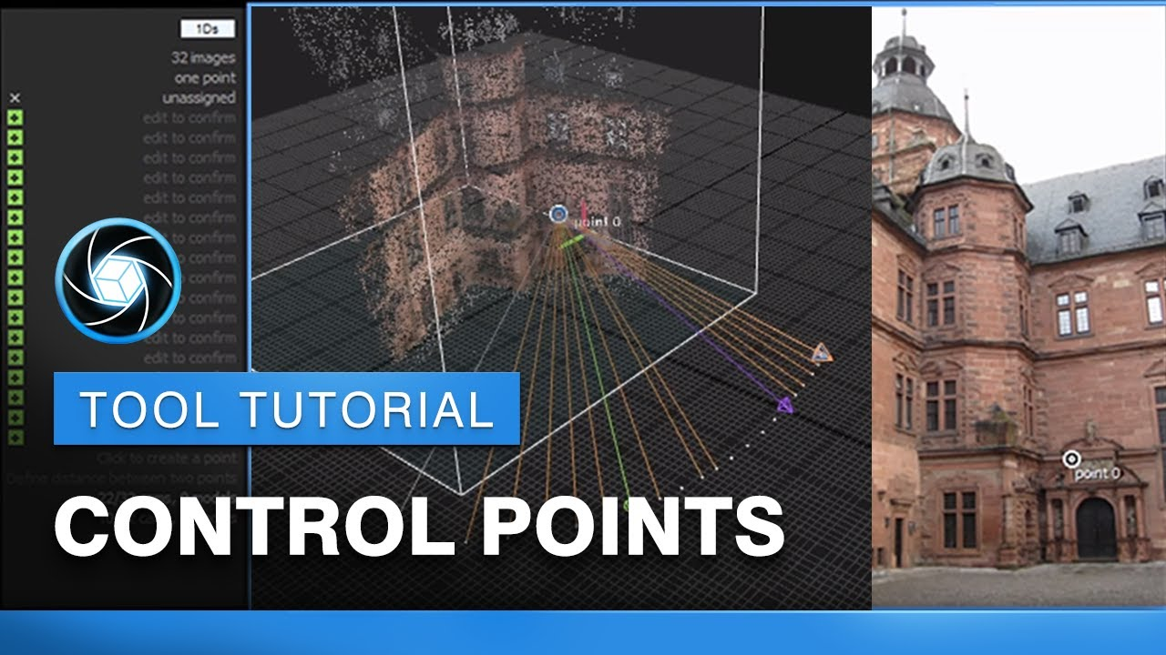 RealityCapture Tools Tutorial: Control Points