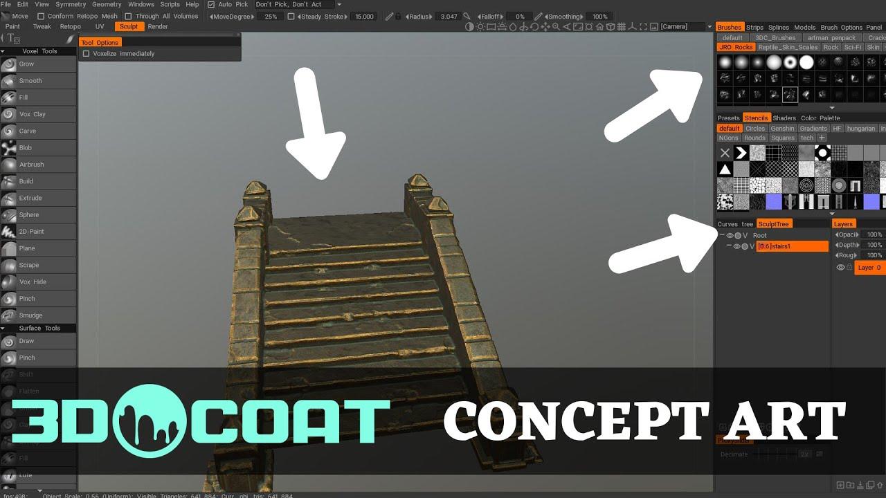 3DCoat Basics for Concept Art with Jose Vega
