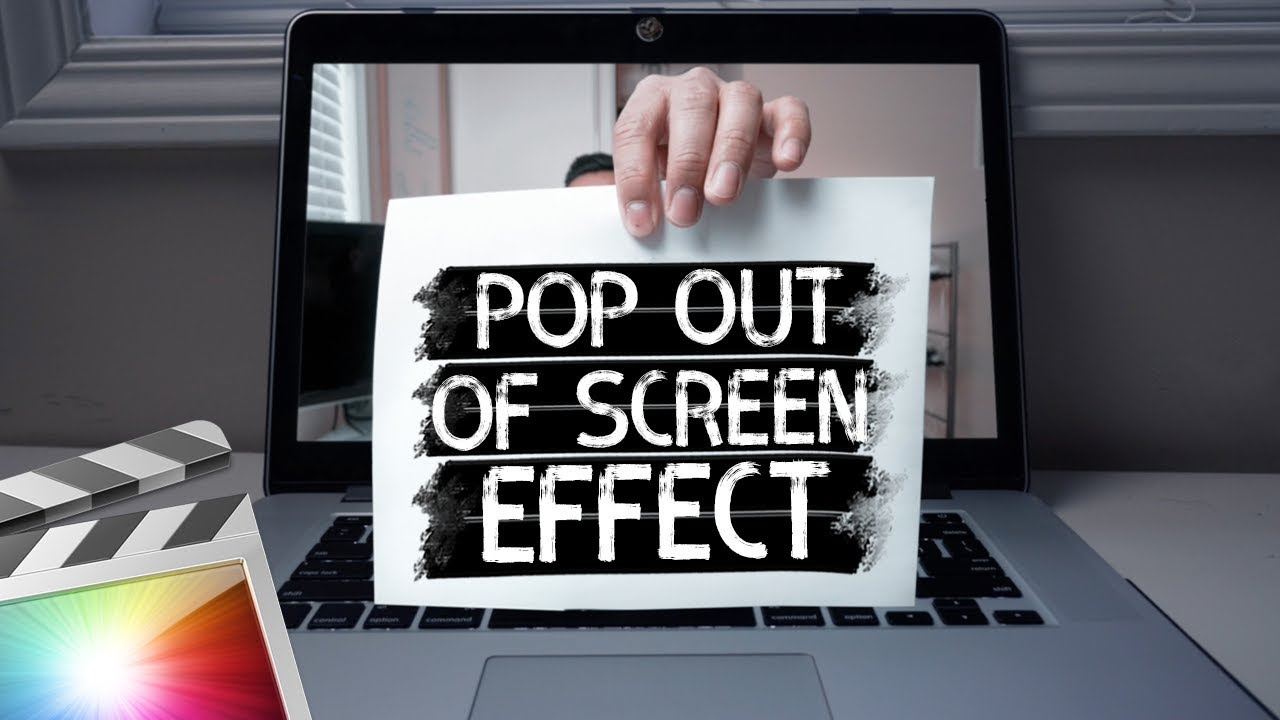 pop out of screen fx tutorial