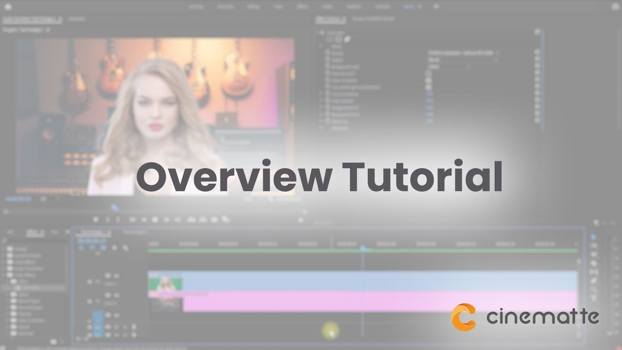 cinematte tutorial