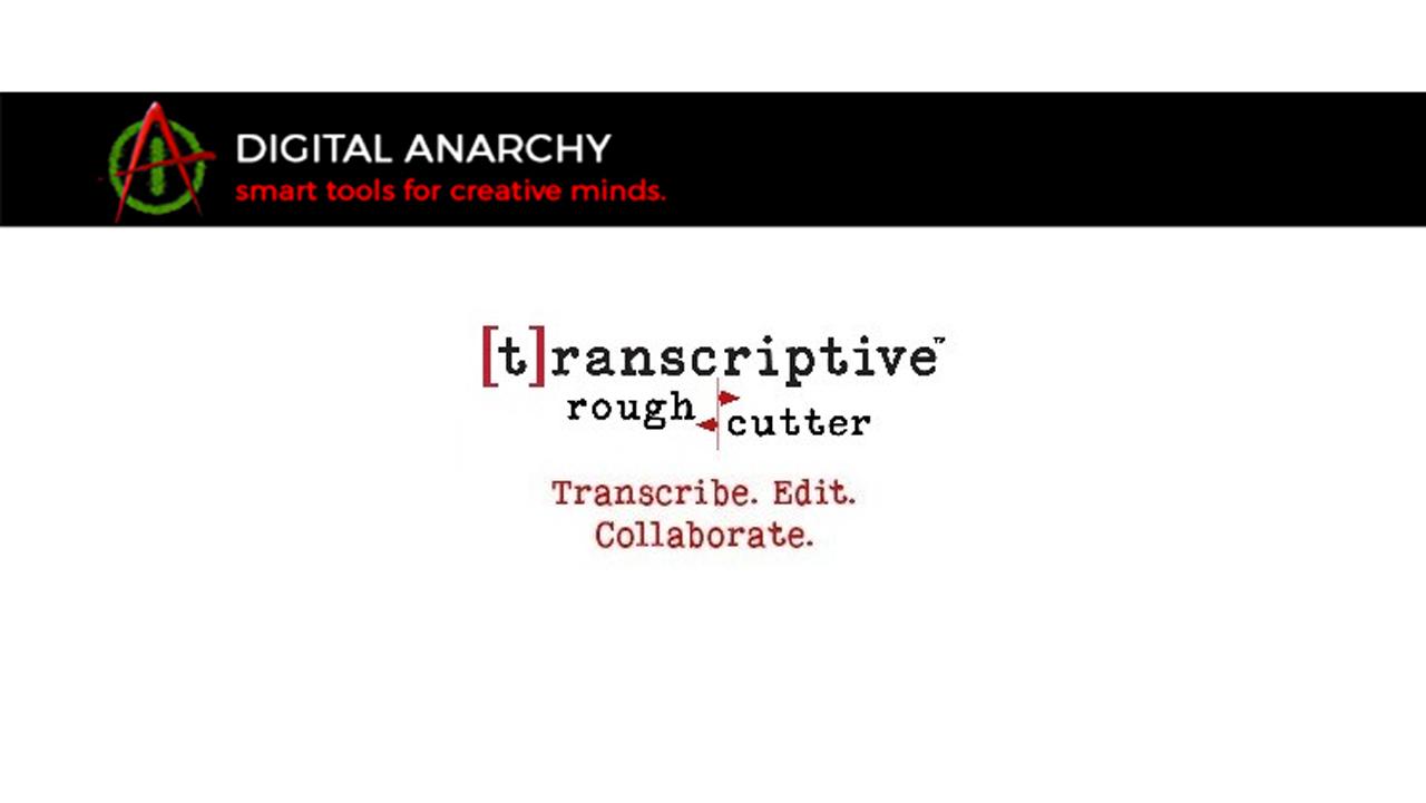 digital anarchy transcriptive rough cutter
