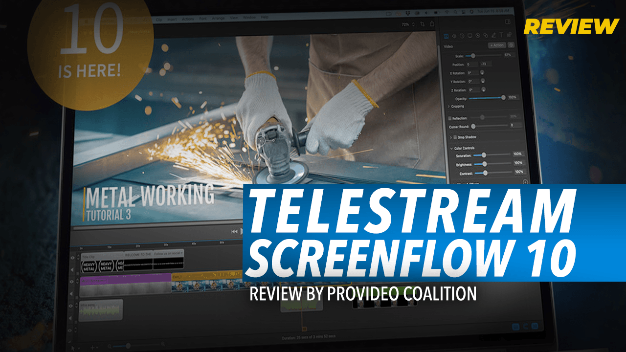 Review: Telestream ScreenFlow 10 by ProVideo Coalition