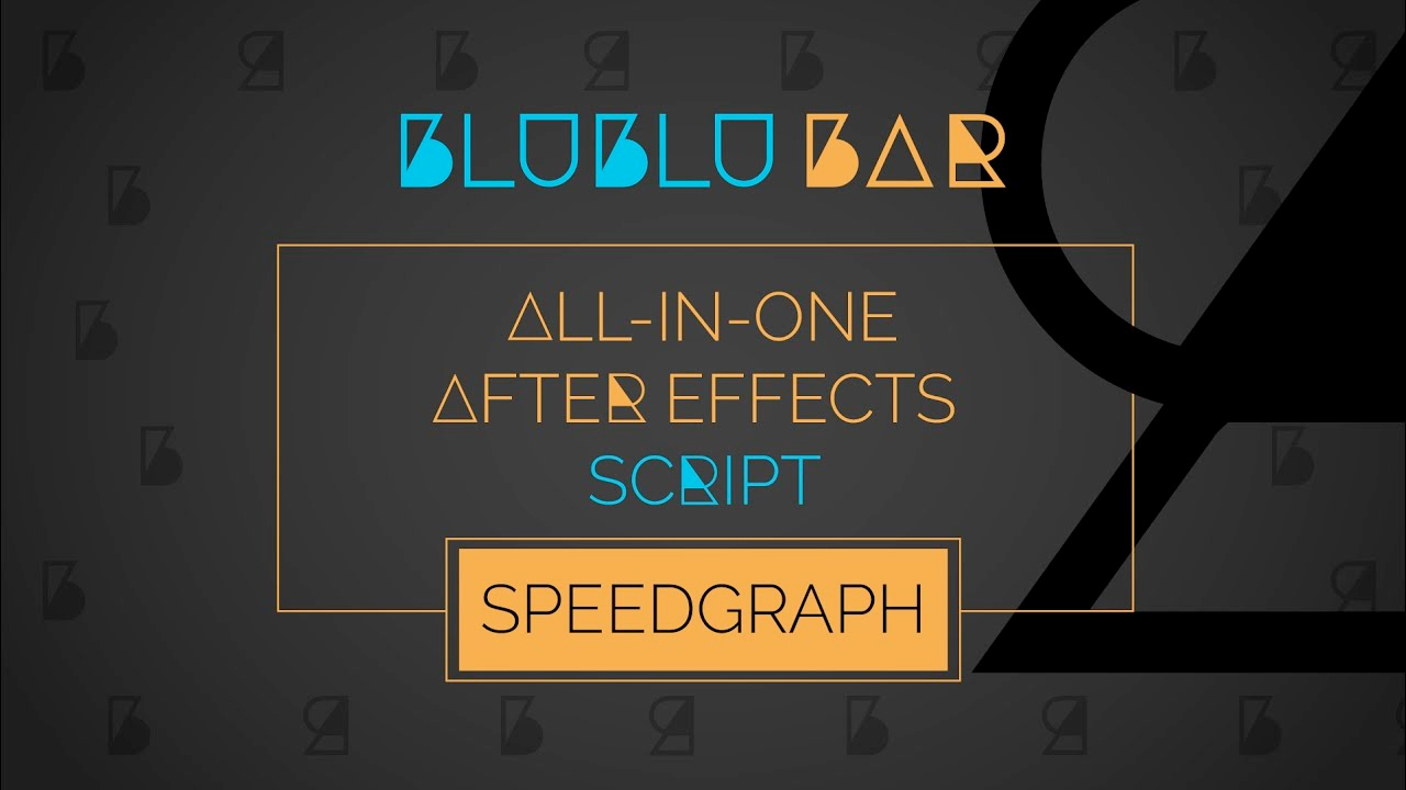 blublu bar speedgraph tutorial