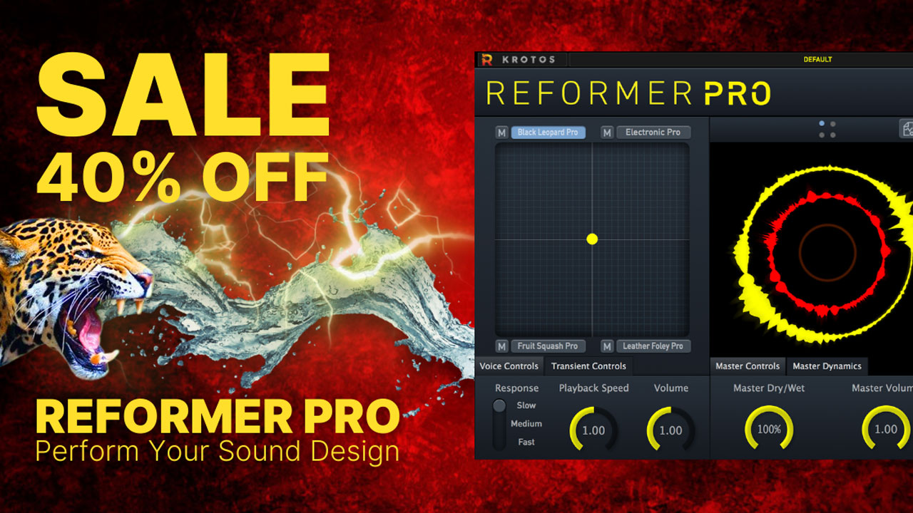 krotos audio reformer pro 40% off