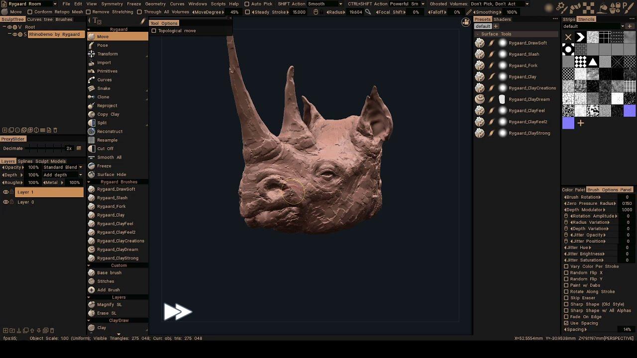 3DCoat 2021 Sculpt
