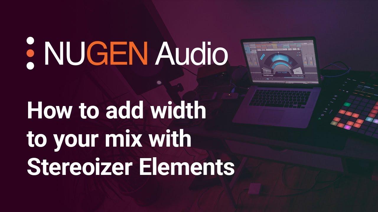 nugen audio stereoizer tutorial