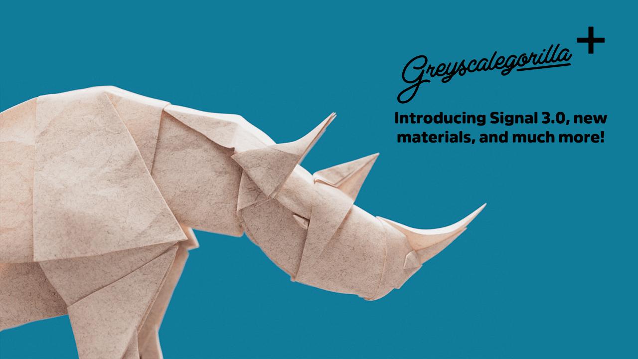 Update: Greyscalegorilla Plus, New Signal 3.0 + New Plugins, More