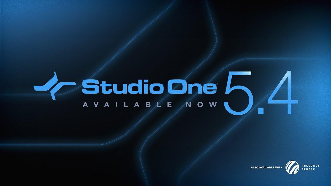 Update: Presonus Studio One 5.4 Adds M1 Support, More