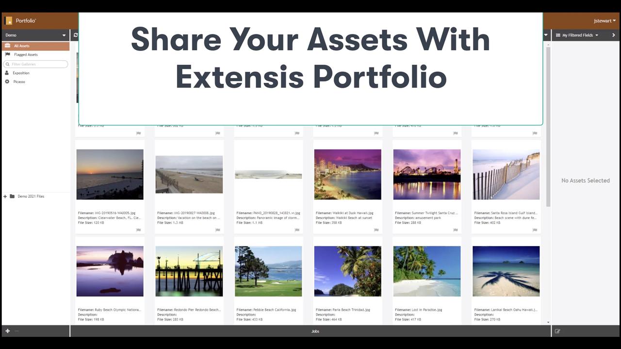 portfolio share assets tutorial