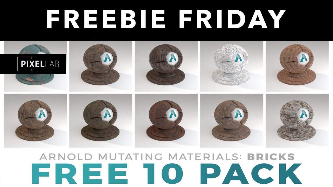 pixel lab free bricks sampler pack