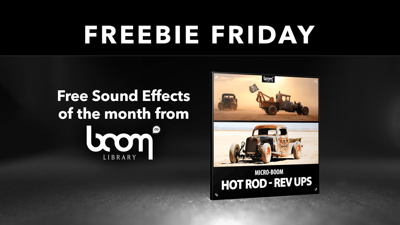 Freebie: Hot Rods Boom Library Free Sound Effects