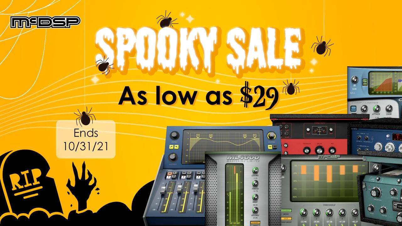 mcdsp spooky sale