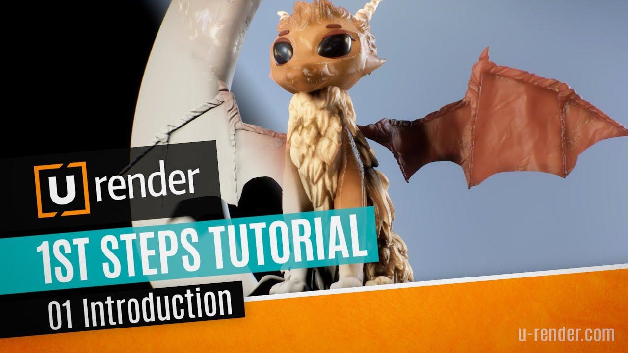 u-render 1st steps tutorial