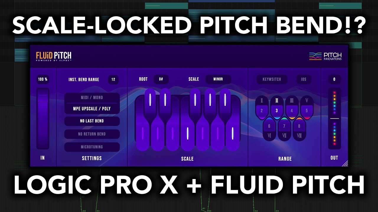 Logic Pro X and Pitch Innovations Fluid Pitch #gettingstarted