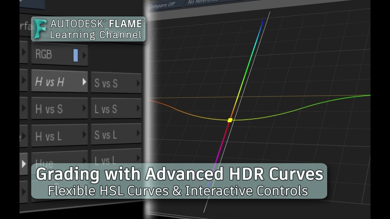 Autograde: Grading with Advanced HDR Curves in Autodesk Flame 2022.2