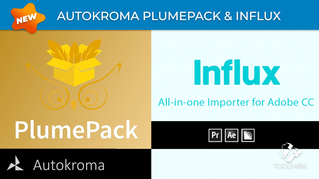autokroma plumepack and influx