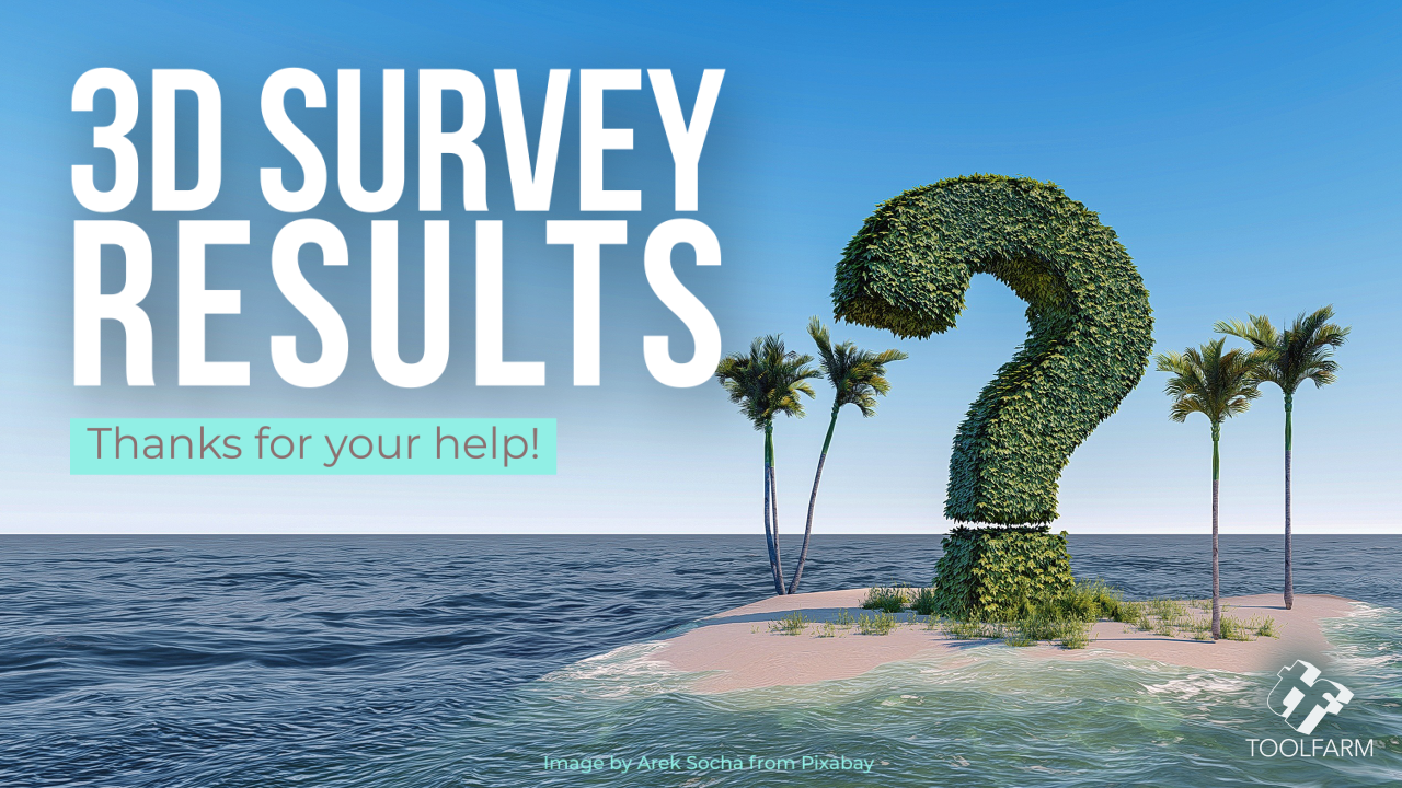 The Results: 3D Renderers Survey