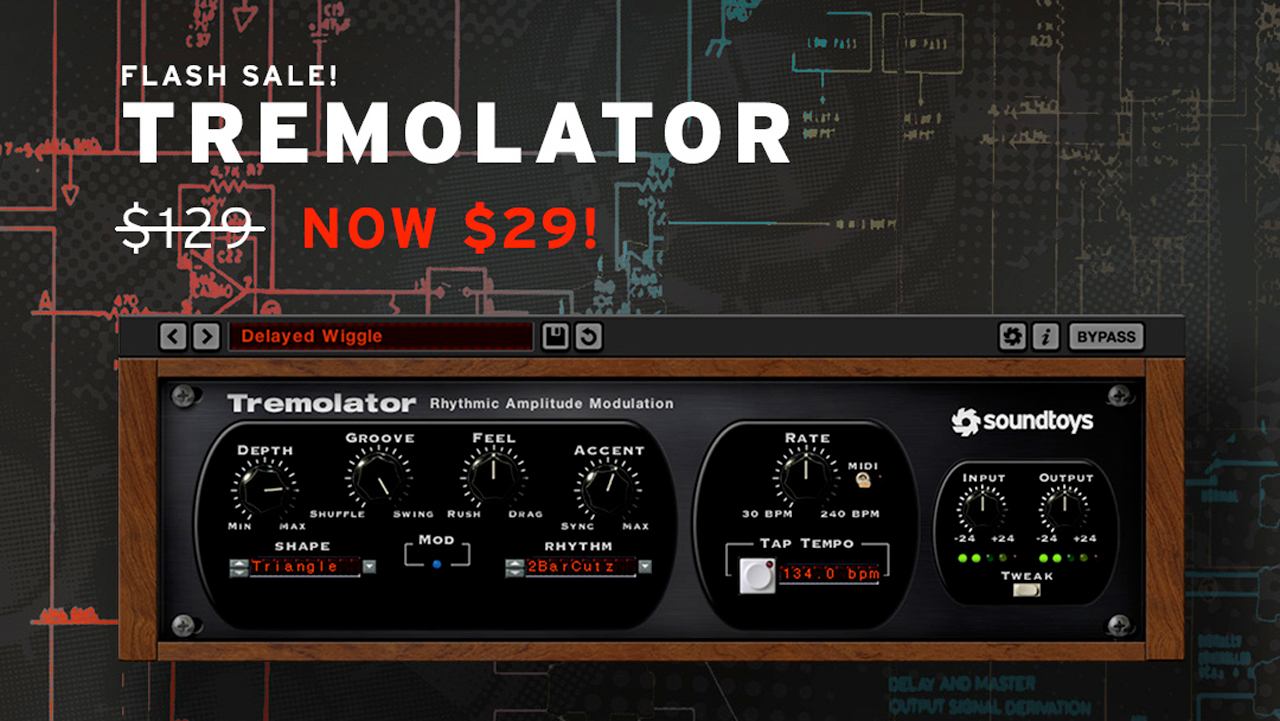 tremolator flash sale