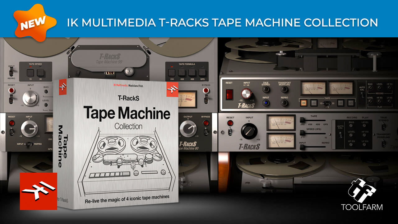 tape machine collection